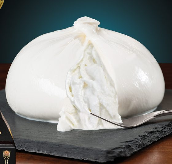 Burrata di Latte di Mucca - Caseificio Artigiana - Casabufala